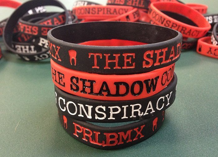 PLR BMX Shadow wristbands