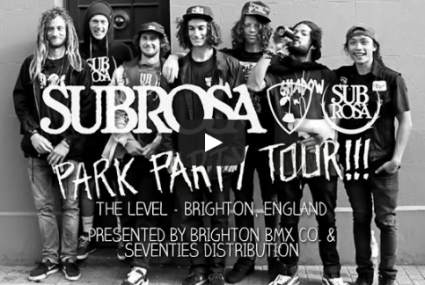 Subrosa Brand - Brighton Park Party