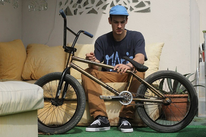 Nico Badet - Data BMX Bike Check